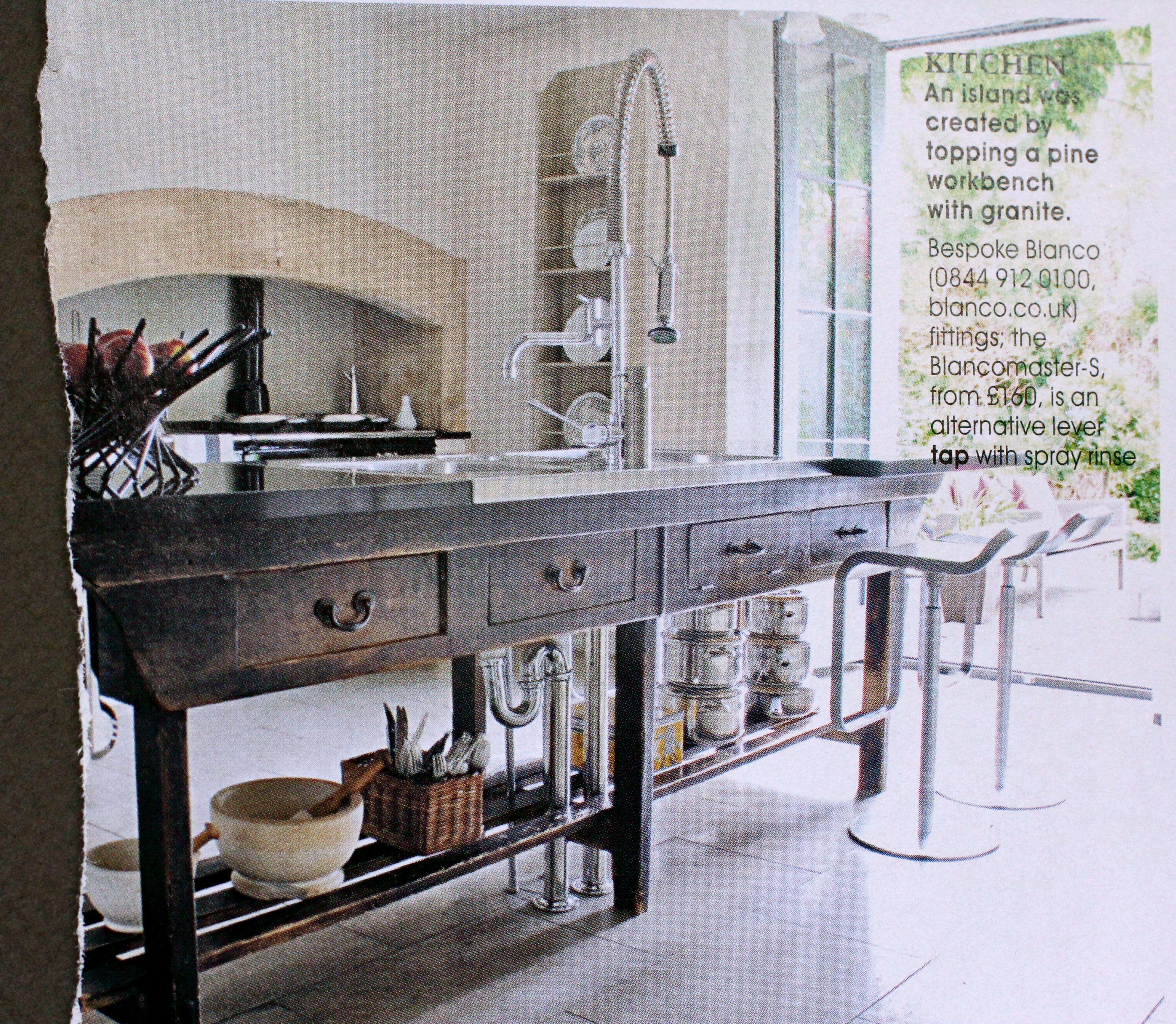 A Beautiful Pine Workbench ...